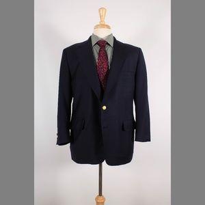 Brooks Brothers 42S Navy Sport Coat B217